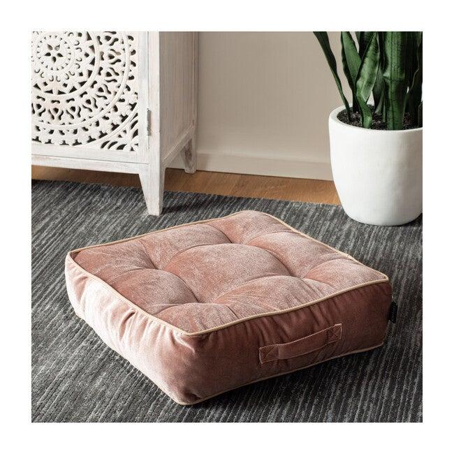 Primrose Floor Pillow, Pink