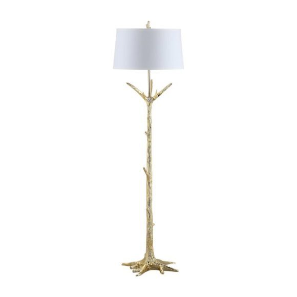 Thornton Floor Lamp, Gold - Lighting - 1