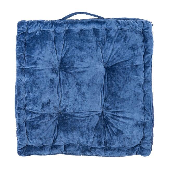 Belia Floor Pillow, Blue