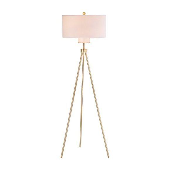 Enrica Floor Lamp, Gold