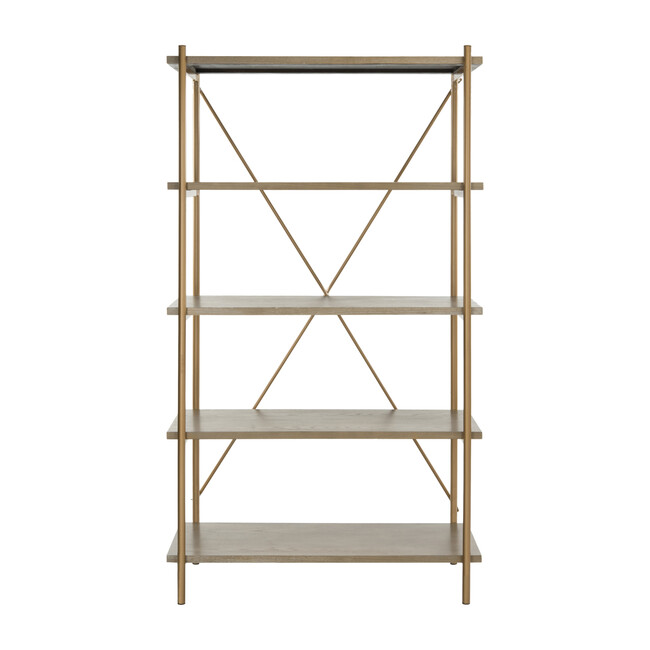 Rigby 5-Tier Etagere, Gold