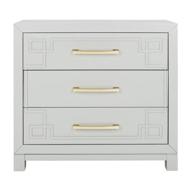 Raina 3-Drawer Chest, Grey