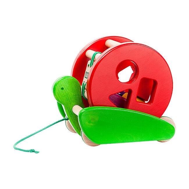 Snail Sortroller, Red - Push & Pull - 1