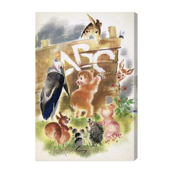 Animal Abc Home Decor Art Maisonette
