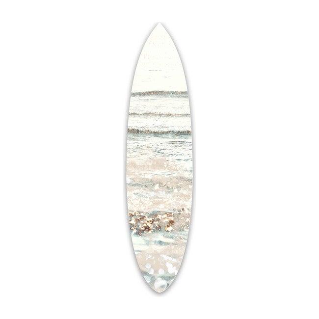 Swim in Jeweled Waters Surfboard, Acrylic
