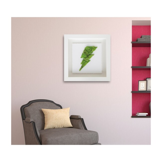 Lightning Moss, Framed
