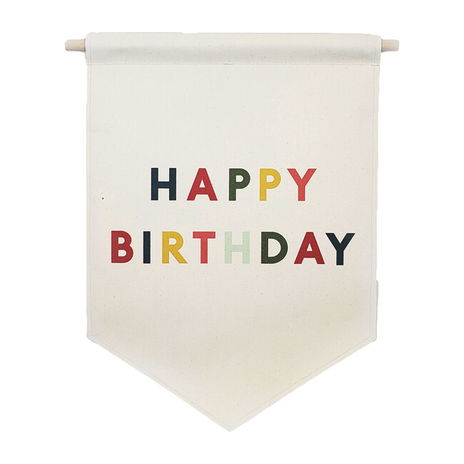 Happy Birthday Banner, Multi