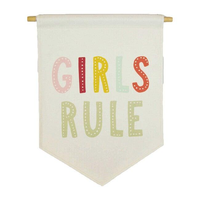 Girls Rule Banner, Multi