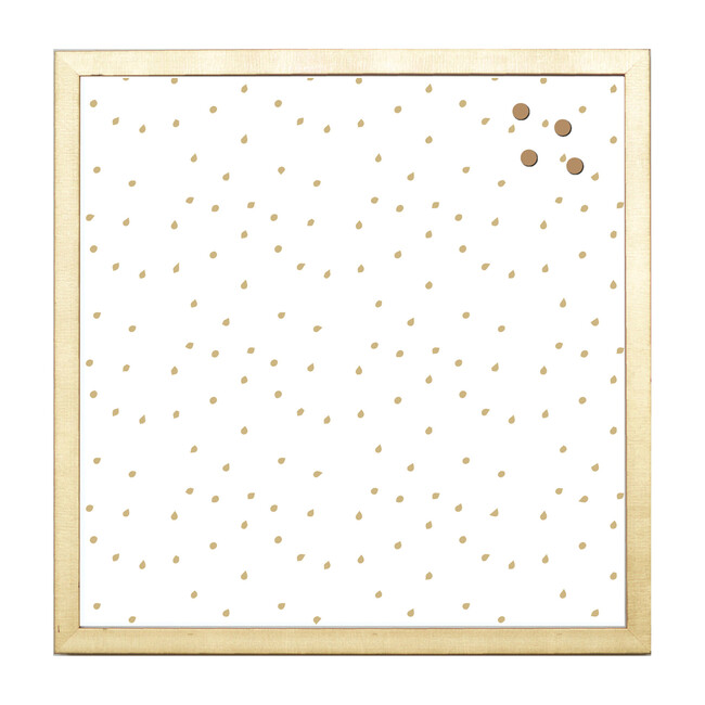 Dots Magnet Board, Gold