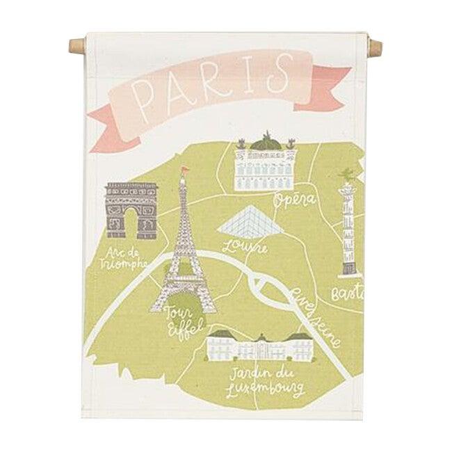Paris Map Banner
