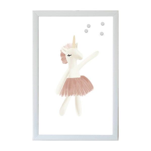 Animal Friends Magnet Board Art, Unicorn