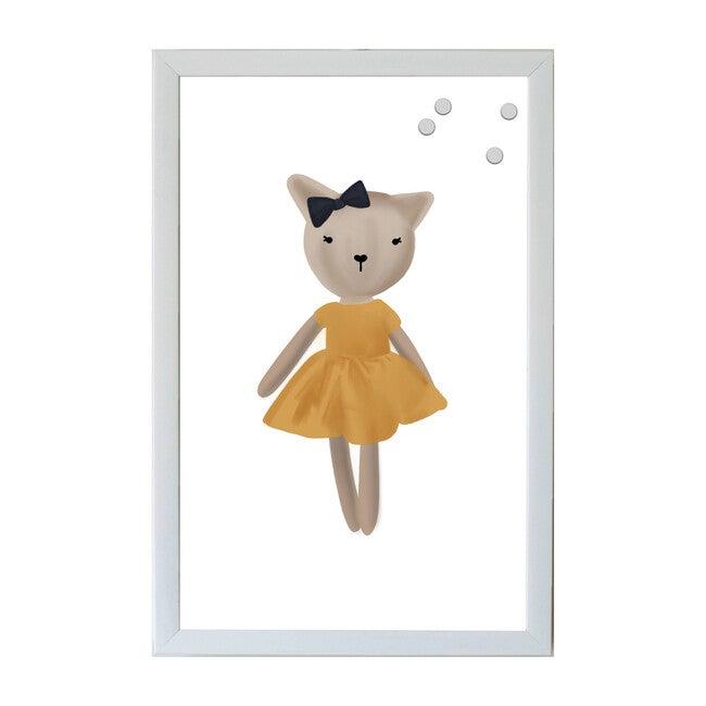 Animal Friends Magnet Board Art, Cat