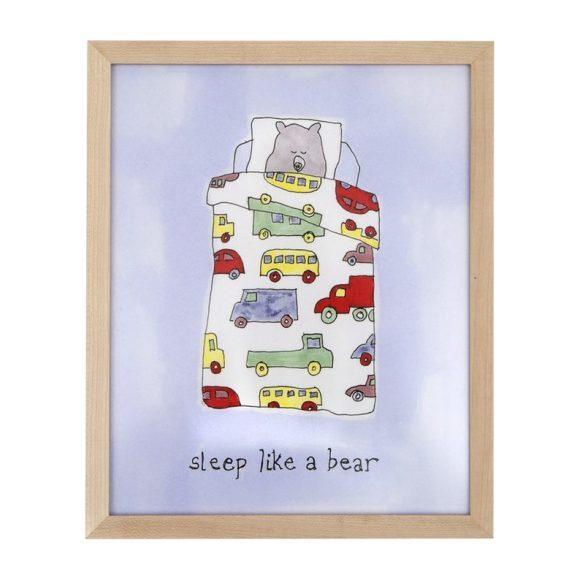 """Sleep Like a Bear (Boy), 8"""" x 10"""""""