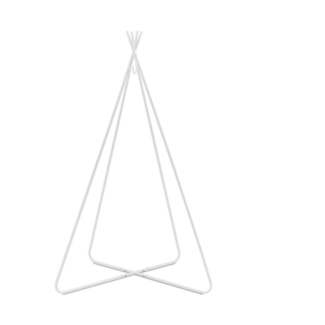 Bambino Tiipii Hanging Bed Stand, White Steel
