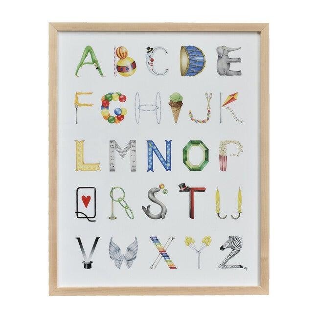 "Circus Alphabet, 16"" x 20"""