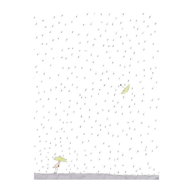 "Rainy Day, 8"" x 12"""
