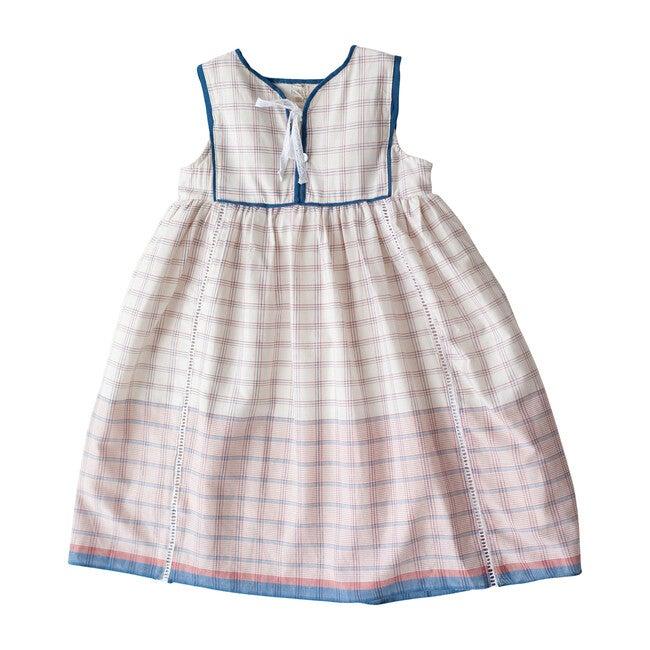 White Chex Midi Dress