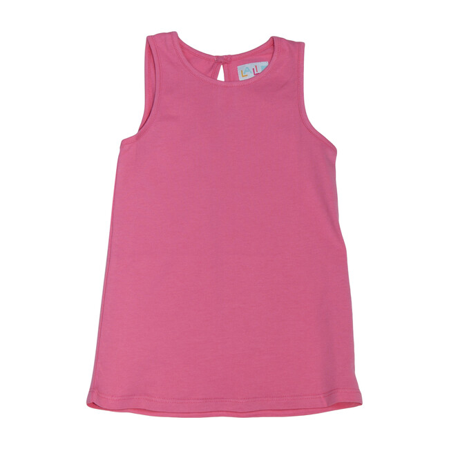 Organic Cotton Tank Top, Pink