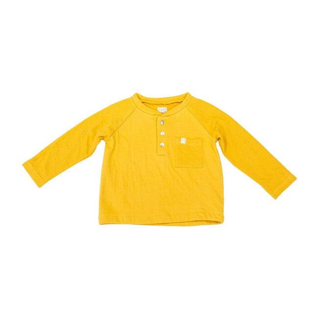 Henley Shirt, Mustard