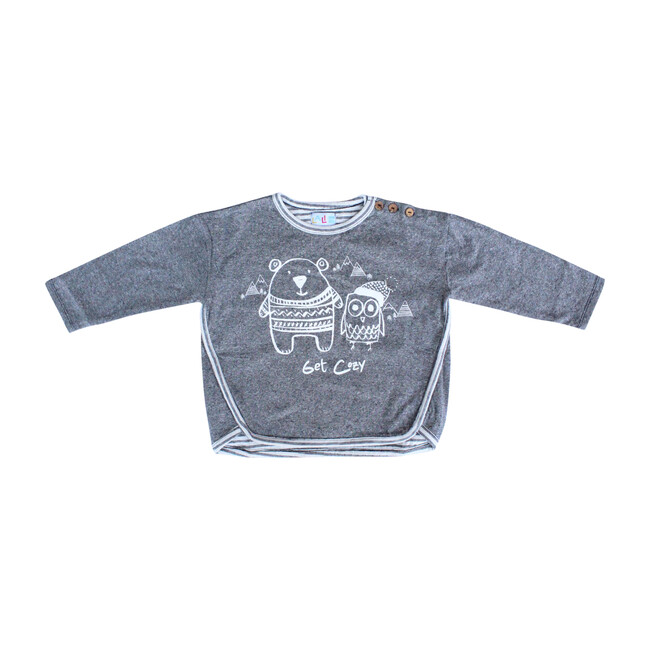 Get Cozy Pullover, Charcoal