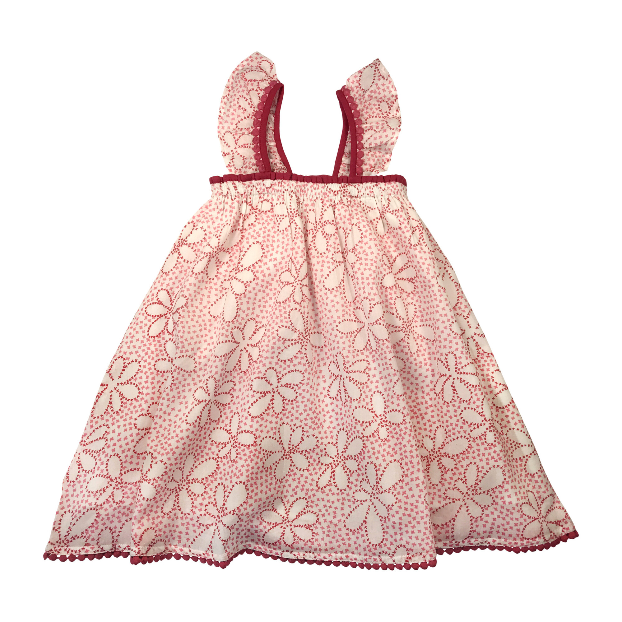 Molly Dress, Pink Floral