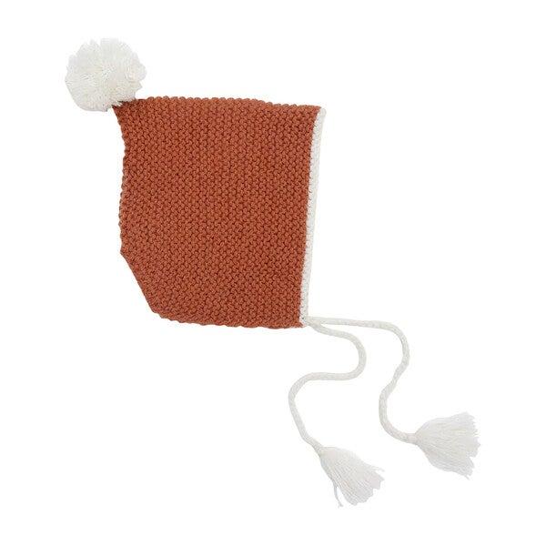 Baby Rust Alpaca Wool Hat