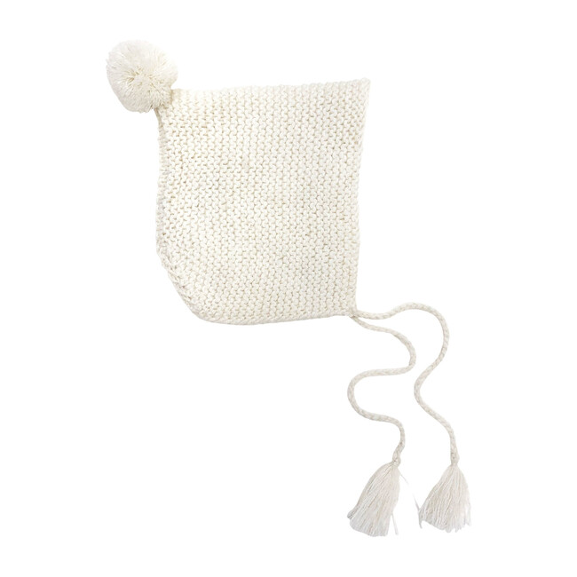 Baby Cream Alpaca Wool Hat - Hats - 1