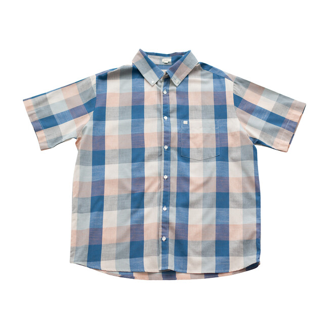 *Exclusive* Men's  Blue Chex Shirt
