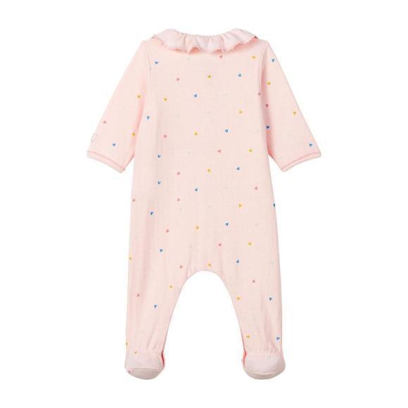 Label Pajamas With Feet, Pink