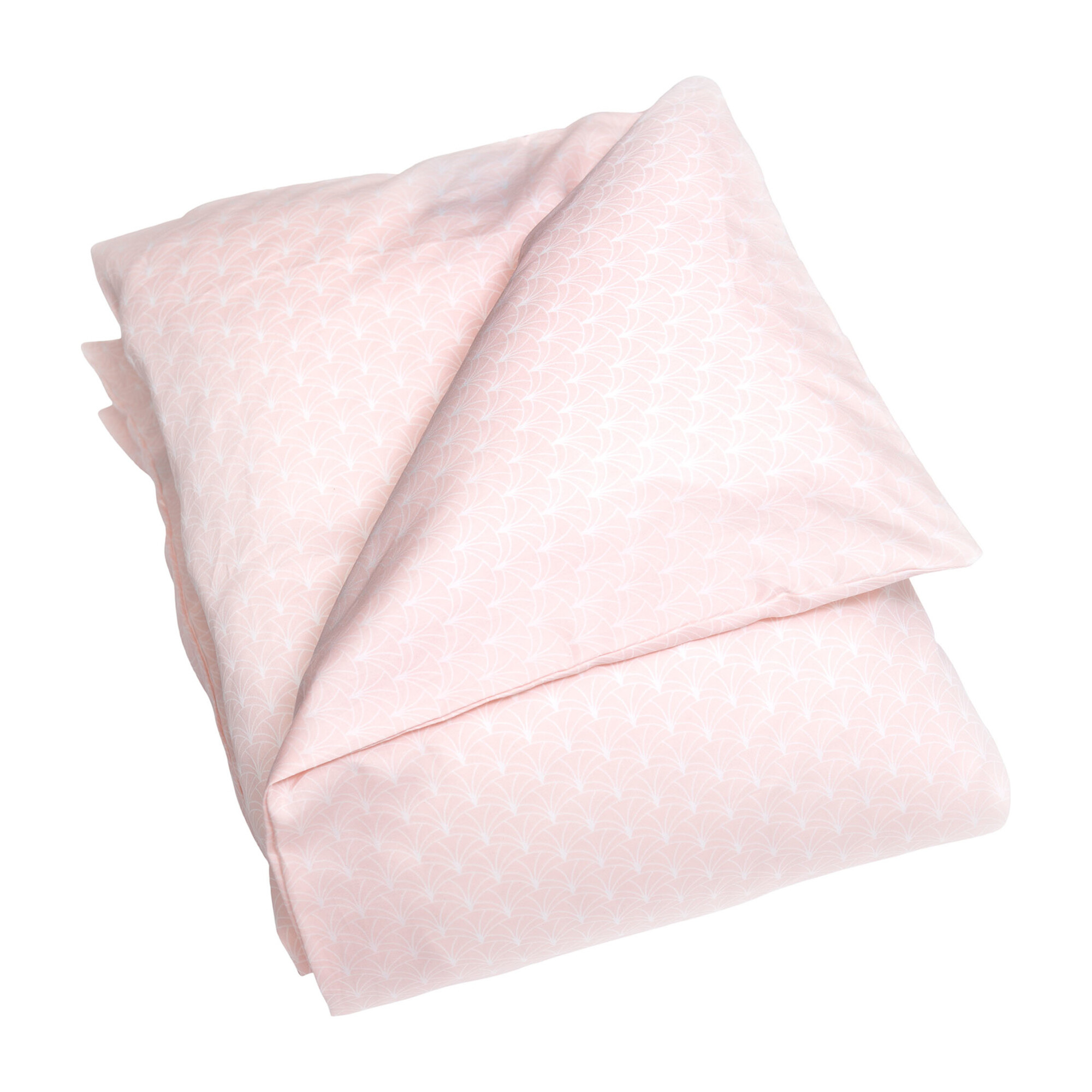 Under the Arches Baby Duvet Set, Pink