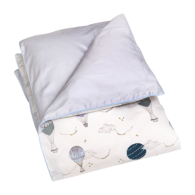 Touch the Sky Baby Duvet Set, Blue