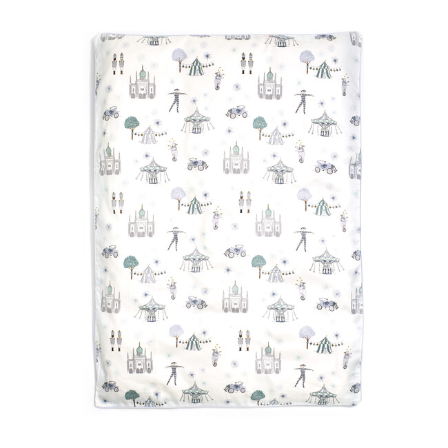 *Exclusive* Adventures in Wonderland Baby Duvet Set, Aqua
