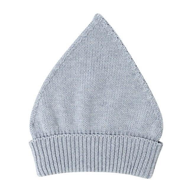 Gnome Knit Bonnet, Grey Cotton