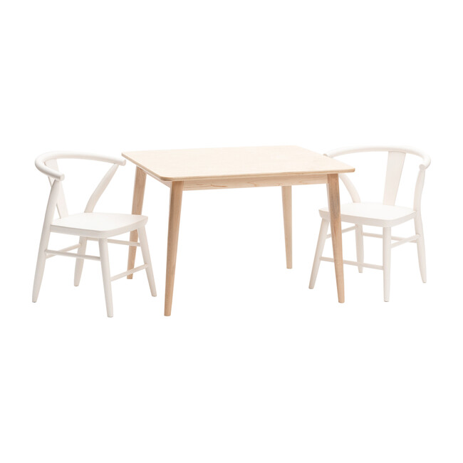 Crescent Table, Natural