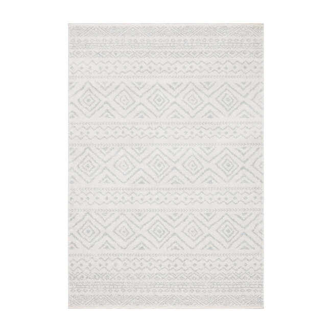Tulum Aidy Rug, Light Grey