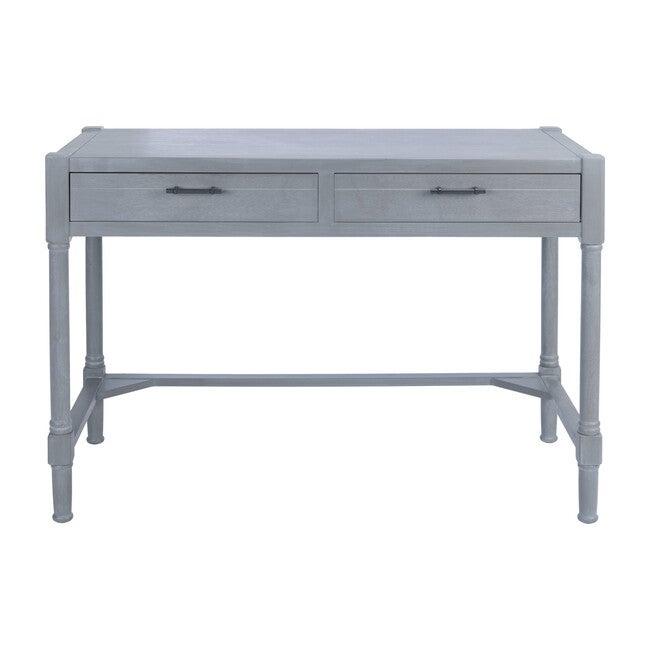 Filbert Writing Desk, White-Washed Grey