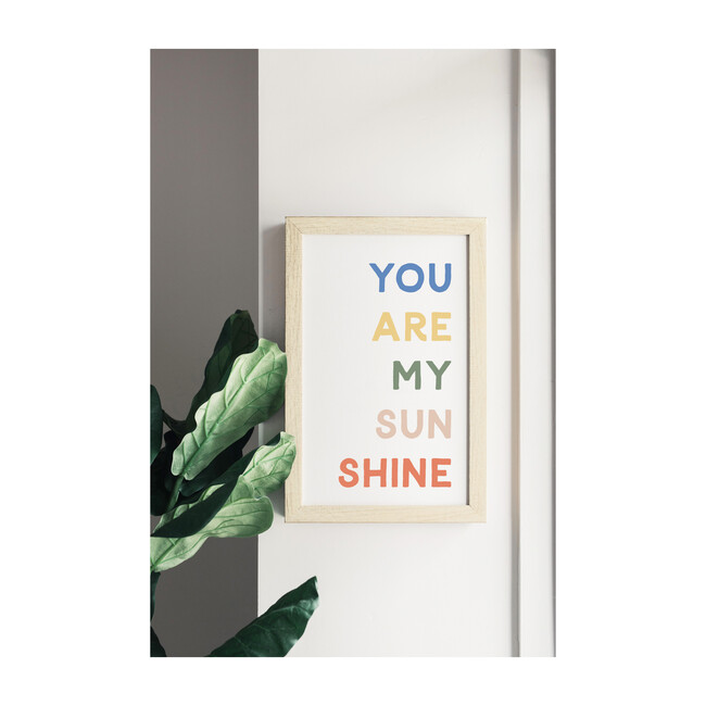 You Are My Sunshine Magnet Board, Multi