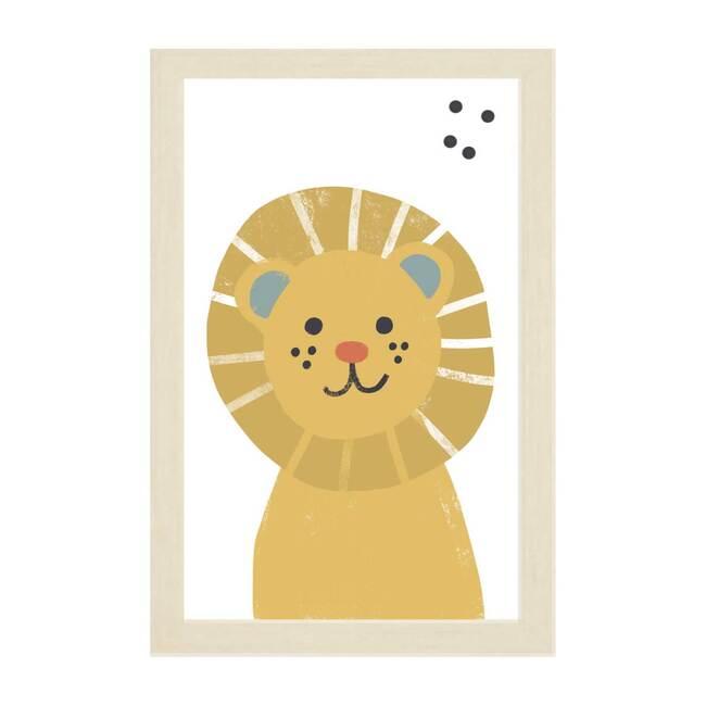 Lion Magnet Board, Golden