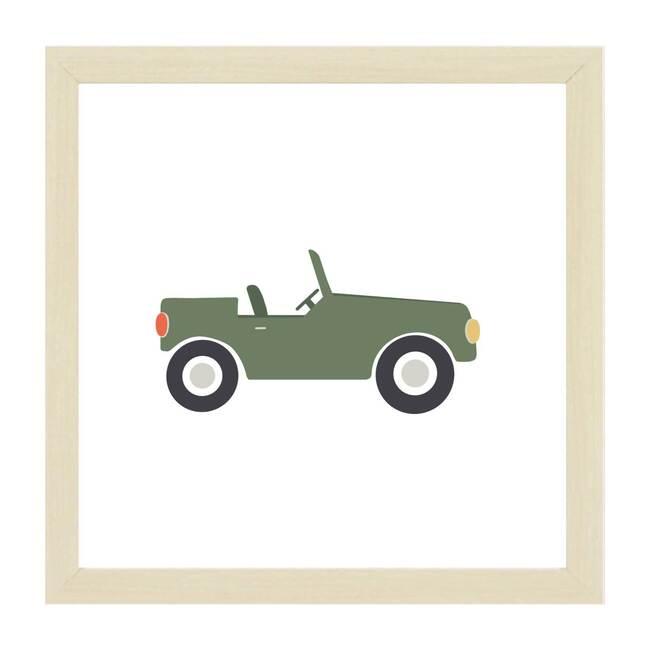 Green Jeep Magnet Board, Green