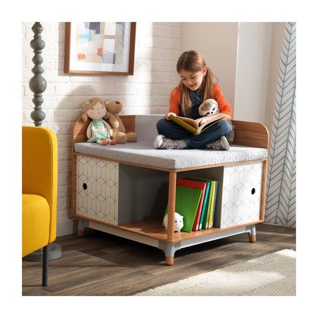 Mid-Century Kid™ Corner Reading Nook