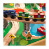 Adventure Town Railway Train Set & Table with EZ Kraft Assembly™ - Transportation - 8