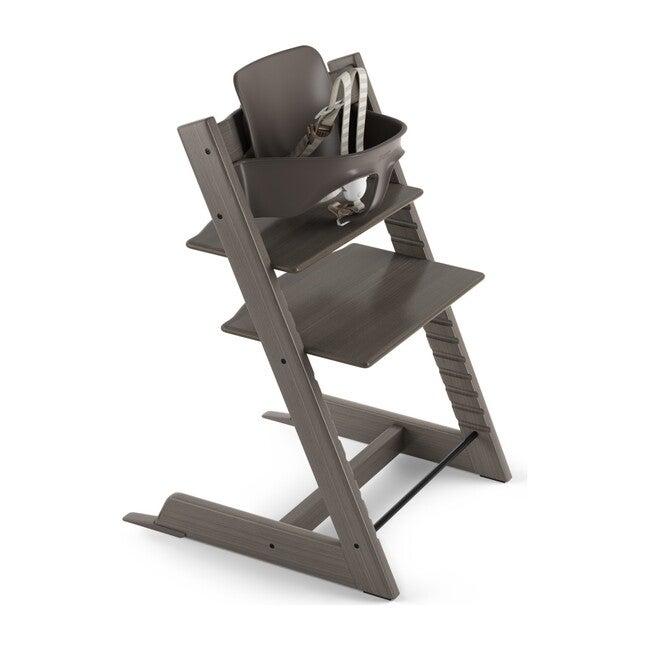 Tripp Trapp® High Chair (includes Tripp Trapp® + Baby set), Hazy Grey