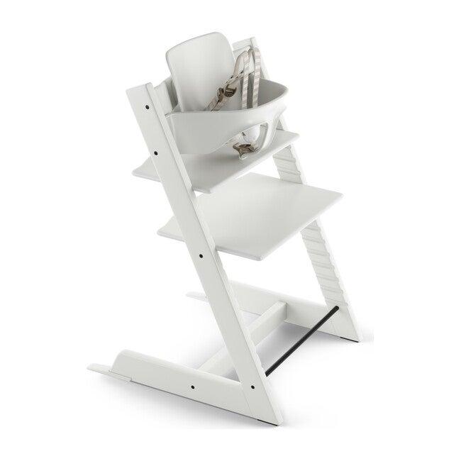 Tripp Trapp® High Chair (includes Tripp Trapp® + Baby set), White