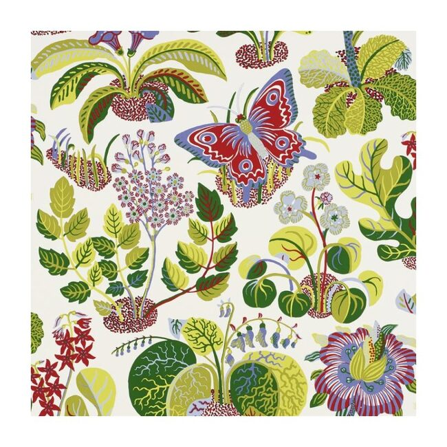 Exotic Butterfly Wallpaper, Multi