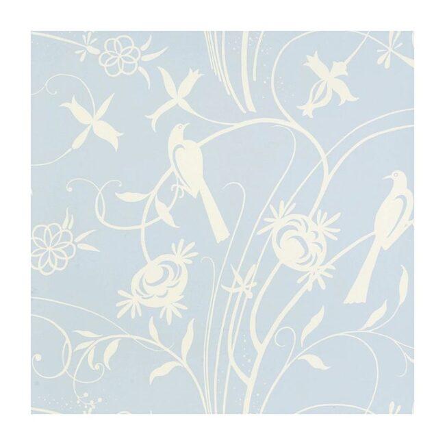 Sky Meadow Wallpaper, Light Blue