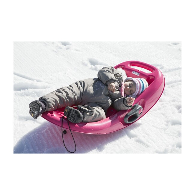 Snow Flipper Sled, Pink/Anthracite