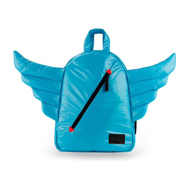 Mini Wings Backpack, Turquoise