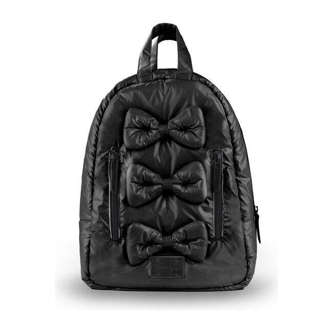 Mini Bows Backpack, Black