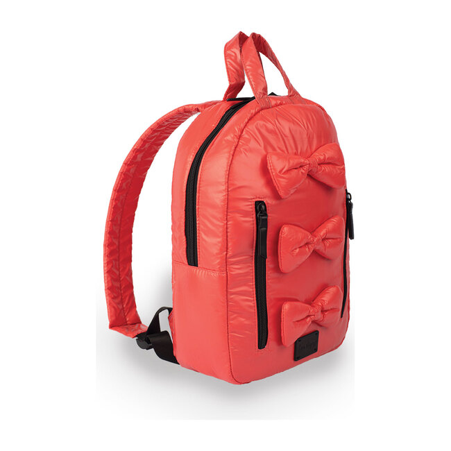 Mini Bows Backpack, Coral