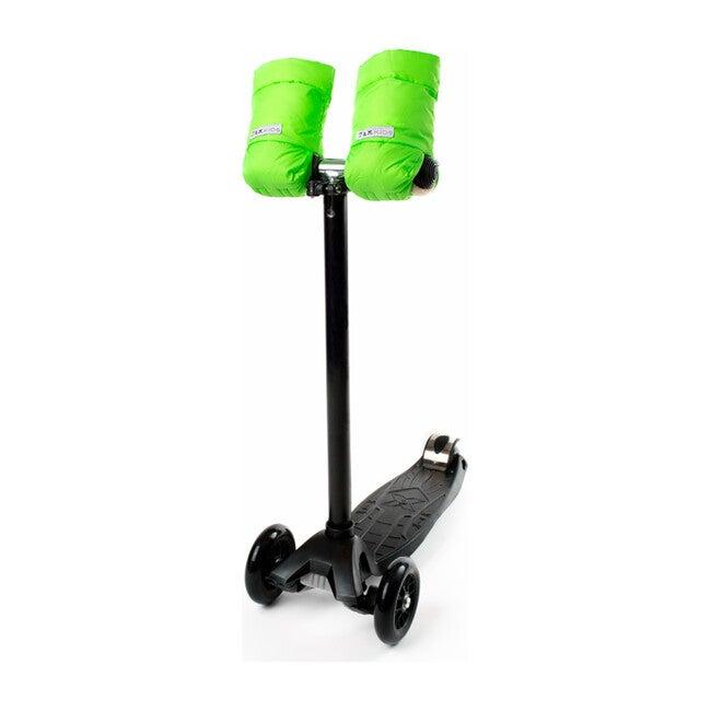 Kids Warmmuffs, Neon Green